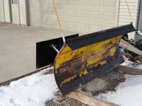 I have a 6.5 foot skidsteer hydro-turn snow plow, 32""