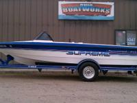 1991 SKI SUPREME. INBOARD COMPENSATION SKI WATERCRAFT.