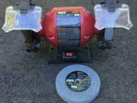 "For sale is a Skil 6"" Bench Grinder, Model 3380"