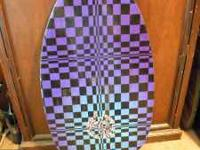 Wood skimboard used only once! Purchased in Virginia