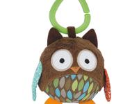 This Skip Hop Hug & Hide Stroller Ball - Owl pal