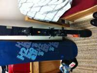 skis, Have an almost new pair of 2011 ATOMIC PANIC SKIS