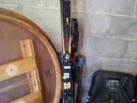 This listing is for a pair of Head downhill skis size