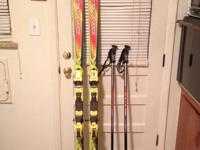 "Beautiful pair of - Ski's: Dynastar ""Geant"" size 190's"