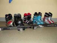 SET (will sell separately) Technica Duo 50 ski boots /