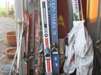 ATOMIC 3D SYSTEM 70 SKIS $40   OLIN MARK III SKIS S