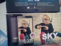 Sky 6.0q dual SIM slots allowing you to have 2