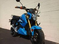 Sky Hawk looks runs just like the Honda Grom 45 MPH 42