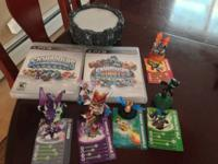 Used Skylanders Spryo's Adventure & Skylanders Giants