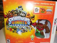 Nintendo 3DS Skylanders Giants portal owners pack new