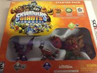 Skylanders Giants 3DS starter pack $10  Characters