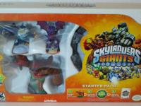 BRAND NEW  SKYLANDER GIANTS  STARTER PACK  FOR