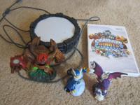 For sale is a Skylander's Giants Wii in gently made use