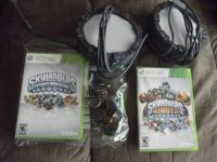 Skylanders Spiros Adventures for X Box with 14 figures,