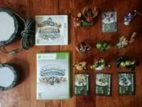 Selling my Skylanders set 6 figurines and 2 games with
