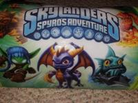 This listing is for the Skylanders Swap Force video