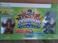 FOR SALE IS THE SKYLANDERS SWAP FORCE STARTER PACK FOR