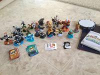Selling a large Skylanders collection for the Wii. It