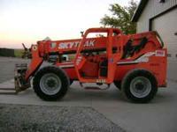 2004 SkyTrak 6036 forklift, 4x4, 4 wheel steer, frame