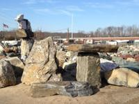 DECORATIVE LANDSCAPE BOULDERS, POOL DIVE ROCKS, COASTAL