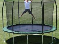Skywalker 12 foot Round Trampoline and Enclosure Combo