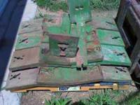 I have several slab weights for the John Deere 10 20