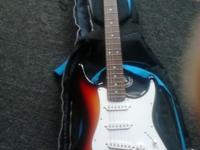 Slammer by Hamer electric guitar...both the guitar and