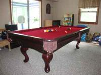 Like new pool table in MINT condition! PRESIDENTIAL