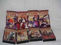 Complete Slayers 8 tape series, $20, call or text