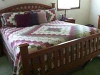 This is a really nice bed about 1 year old. It is a
