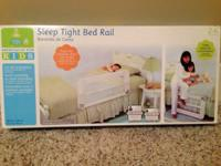 Sleep-Tight Bed Rail - $10 Assembled but never used