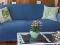 Sleeper sofa looks like the love seat without the