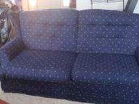ETHAN ALLEN EARLY AMERICAN STYLE SLEEPER SOFA . COUCH