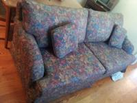 We're selling our sleeper sofa for $75. It is is good