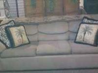 Sleeper sofa, good condition, it is about 10 yrs. old,