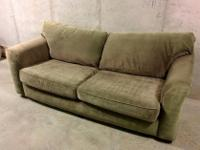 This couch is Olive/Lichen green. Really comfortable.