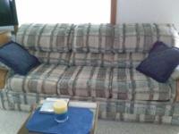 For sale.  Bassett Sleeper Sofa with Deluxe Innerspring