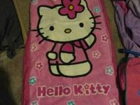 Hello Kitty Fleece Ready Bed Sleeping Bag {Air Mattress