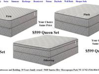 Firm Plush or Pillow Top you choice same price.10 Year