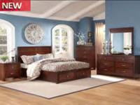 Beautiful sleigh bed purchased in Franklin, TN cherry