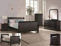 VERY NICE SLEIGH BEDROOM SET FOR ONLY $699  CALL ME