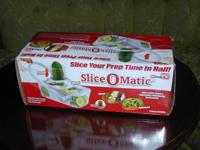 "I have for sale a ""Slic-O-Matic"" Slicer, it was never"