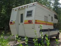 Coachmen slide in camper, 8 1/2 ft Stored in a barn so