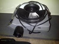 Kodak slide projector with wired remote.. Works well