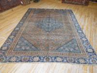 #58242 6' 9 x 9' 5 pure wool hand knotted in Iran