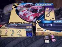 scalextric,john cooper challenge with two expansion