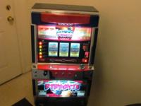 I have a full functioning casino slot machine. The slot