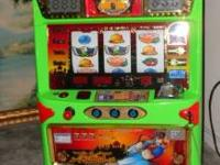 2005 model Slot machine, excellent condition, great for