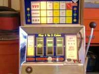 Bally 952-D Slot machine 30 plus years old approx 1973,