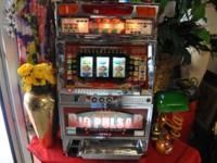 Description SLOT MACHINE NEW BIG PULSAR(Tokens